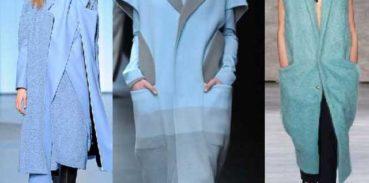 Из пальтовой ткани жакеты длиной ниже колена без рукава