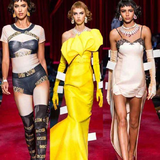 Ready to wear 2017 от Moschino