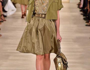 Юбка цвета хаки, модные фасоны и ткани. Обзор с чем носить и сочетать