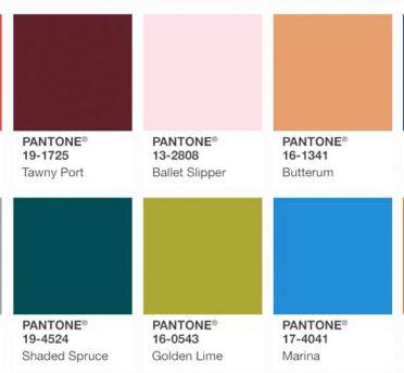модные цвета в одежде 2018 года