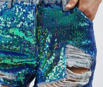Шорты с пайетками. Эффектные образы, модные фасоны и рекомендации с чем носить