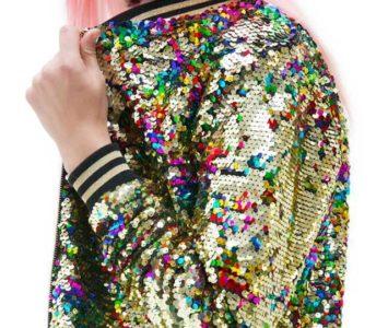 Пиджаки  с пайетками. Образы и идеи с чем носить