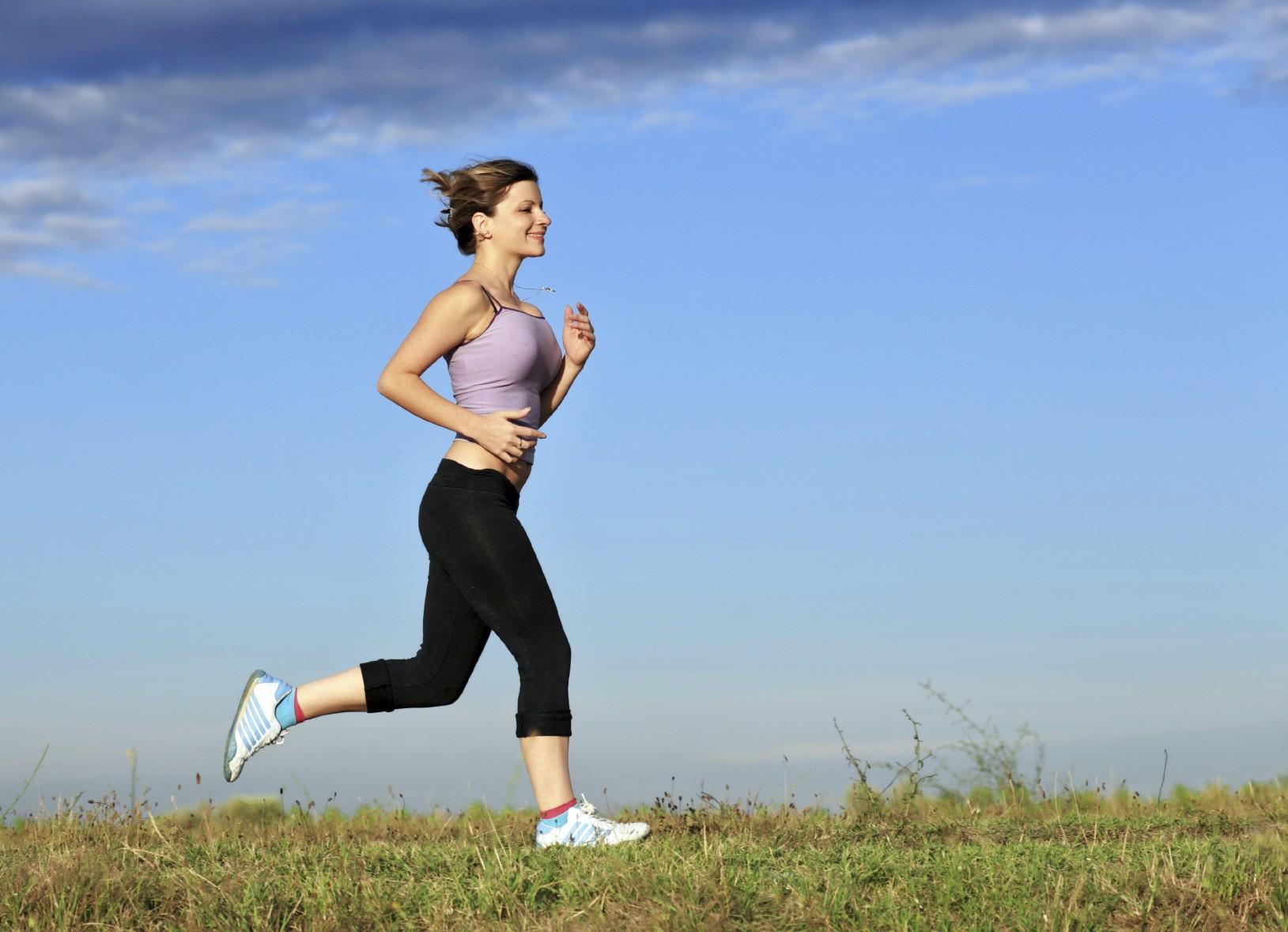 легкий бег для похудения
